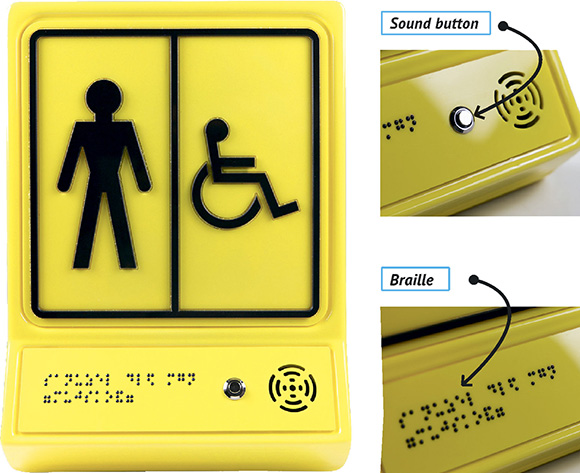 Tactile-sound signs