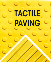 Tactile paving from the manufacturer