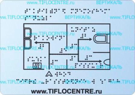 тактильная мнемосхема, тактильная табличка , тактильный указатель, мнемосхема для слепых, указатель для инвалидов, tactile charts, maps for the blind, braille signs, books braille, embossed signs, мнемосхема гостиницы, мнемосхема туалета