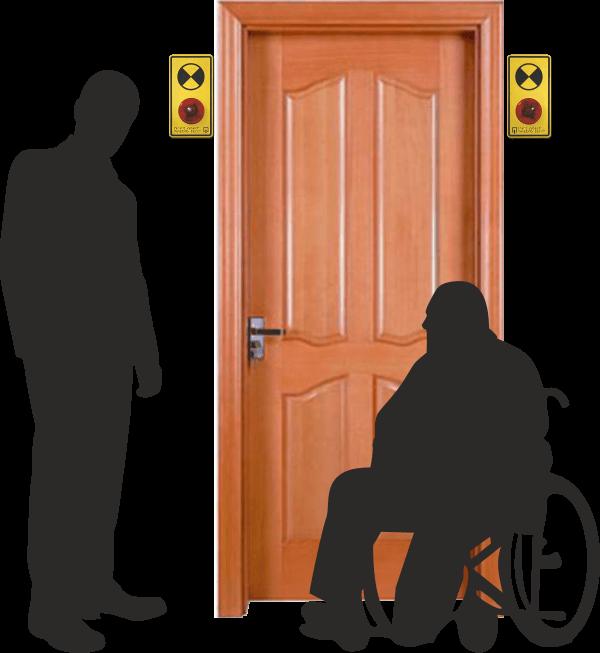 Световой маяк для инвалидов,