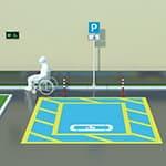 Доступная парковка для МГН
